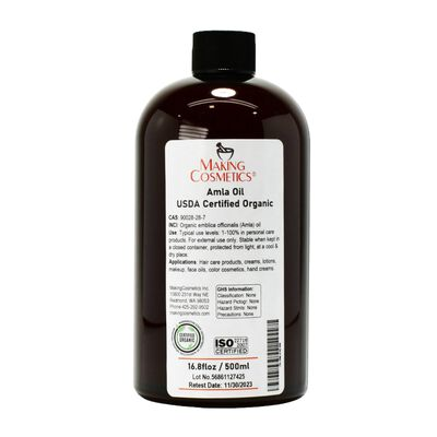 Amla Oil, USDA Certified Organic