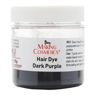 Hair Dye Dark Purple