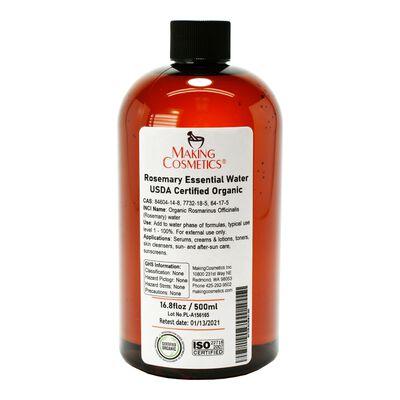 Rosemary Essence Water, USDA Certified Organic