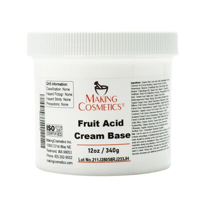 Fruit Acid Cream Base