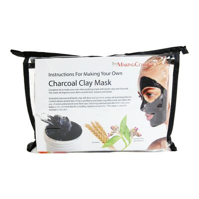 Charcoal Clay Mask Kit