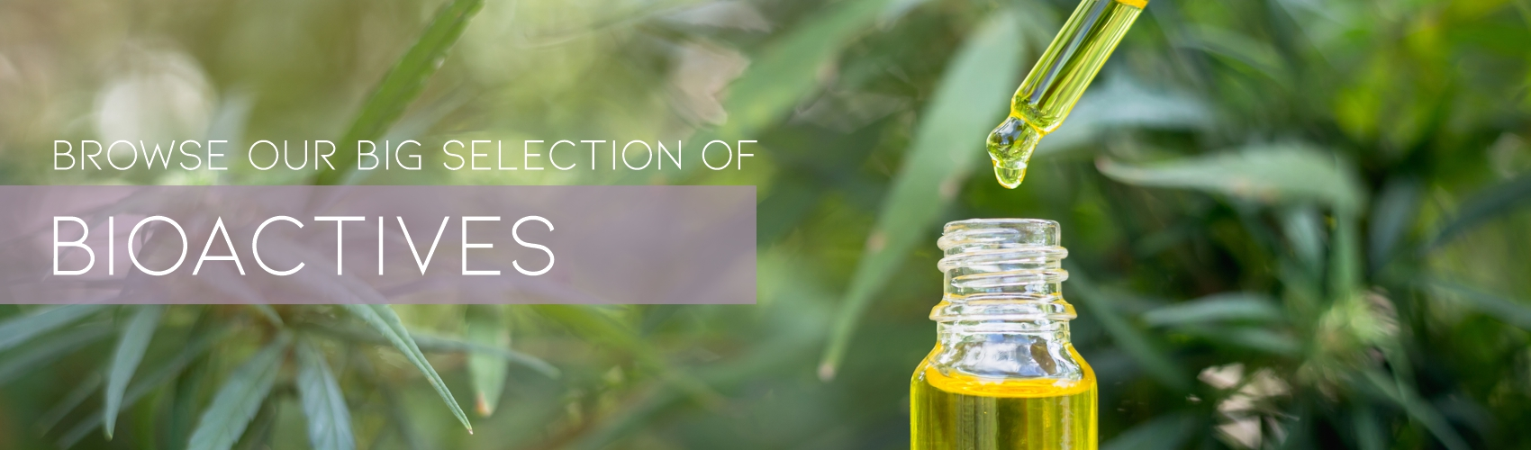 Large Selection of BioActives